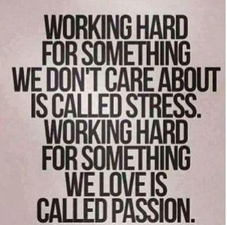 passion stress